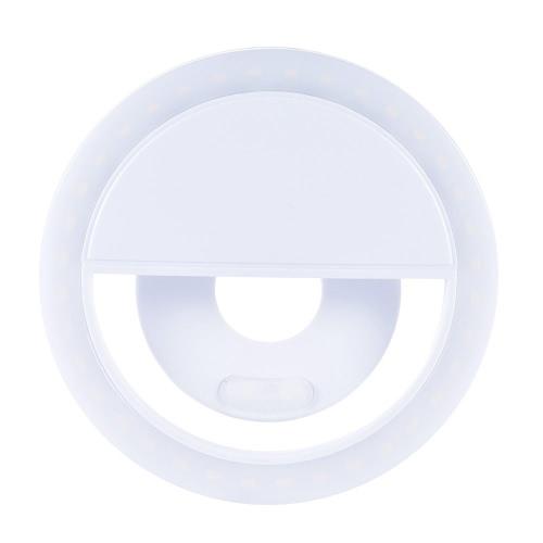 36pcs Mettle Clip-on Compact Mini LED Bead selfie Self Portrait Anneau Fill-in Pocket Lumière CRI95 + 3 en mode 5600K pour iPhone Samsung Mobile Mobile Phone