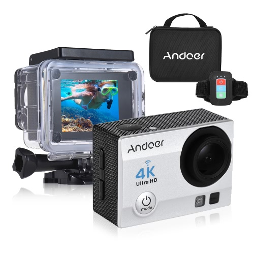 Andoer Q3H-R 4K 30fps caméra 16MP WiFi Sports Action