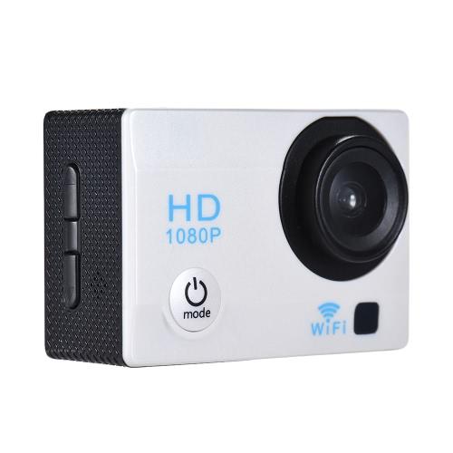 """2 """"wyświetlacz LCD 12MP 1080P WiFi Action Sports Camera"""