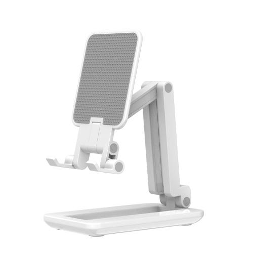 Складная настольная подставка для смартфона Кронштейн для планшета Держатель телефона Макс. 25,5 см Регулируемая высота для потоковой передачи в реальном времени Онлайн-видеочат Пение