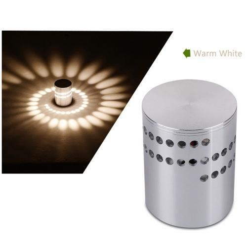 Lámpara de pared espiral LED luz de noche