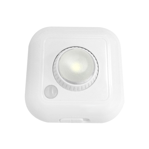 LED Motion Sensor Lights Cabinet Closet Lamp Night Light Adjustable Brightness Lighting Angle
