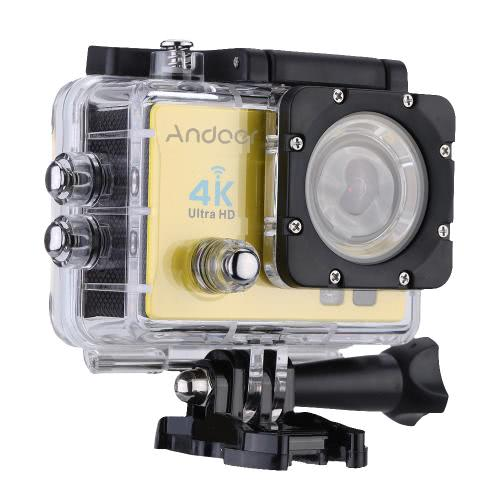 Andoer Q3H 170 ° Широкоугольный 4K Ultra HD 25FPS 1080P 60FPS Wifi Action Camera
