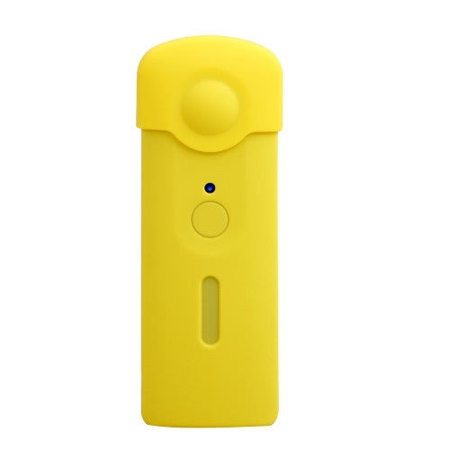 Andoer Protective Silicone Rubber Cover Soft Case Protector Skin Cover for Ricoh Theta S 360 Degree Panoramic Panorama Camera
