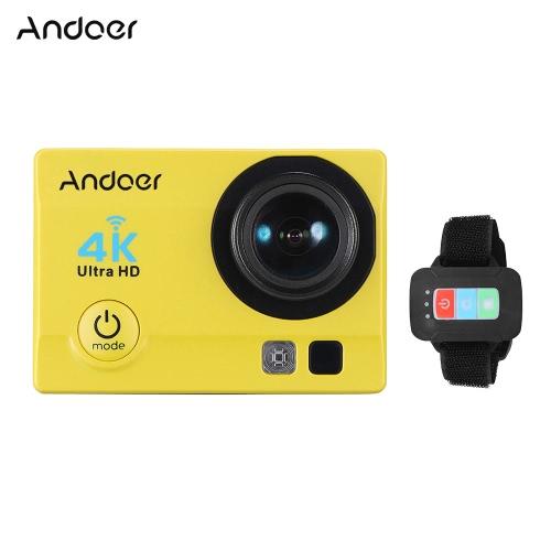 Andoer Q3H-R 4K 30fps 16MP WiFi Esportes Ação Câmera 1080P Full HD 170 ° Lente Grande-Ângulo 30m impermeável 2