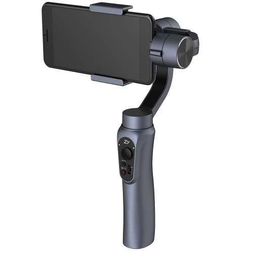 Zhiyun Smooth-Q 3-Axis Handheld Gimbal Stabilizer Contrôle sans fil Prise de vue verticale et horizontale Mode panoramique pour Smartphone 3.5