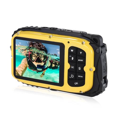 """16MP 2.7 """"液晶防水デジタルビデオカメラ"""
