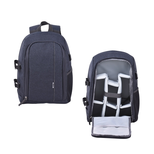 Andoer Shockproof Backpack Outdoor Photography Travel Camera Bag