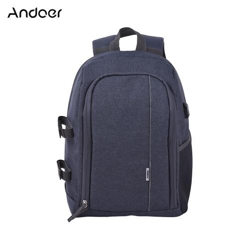 Andoer a prueba de golpes mochila bolsa de viaje de la cámara de fotografía al aire libre