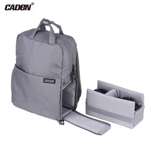 Odporny na wstrząsy, wodoodporny plecak na aparat DSLR CADeN L5