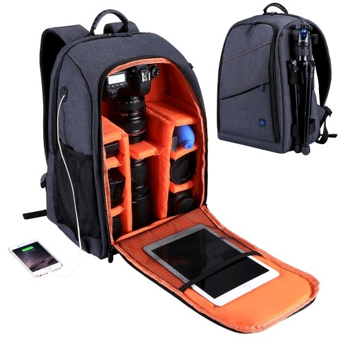 PULUZ Outdoor Backpack Portable Waterproof Bag