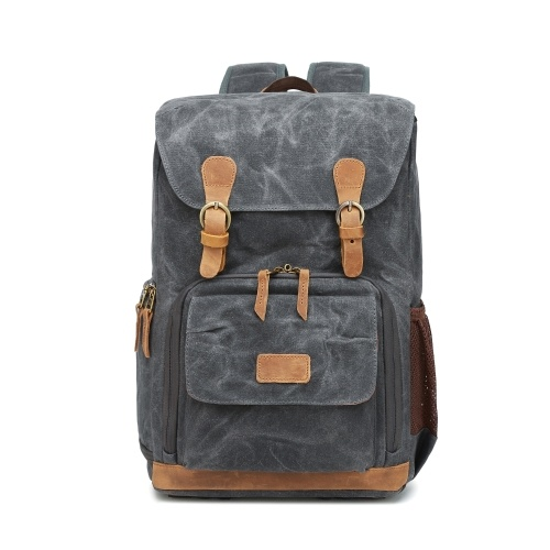 High Capacity Canvas Photography Backpack