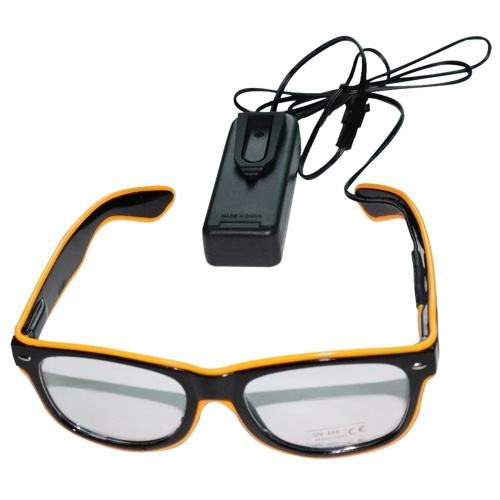 YJ001 LED Glasses 10 Colors Optional Light фото