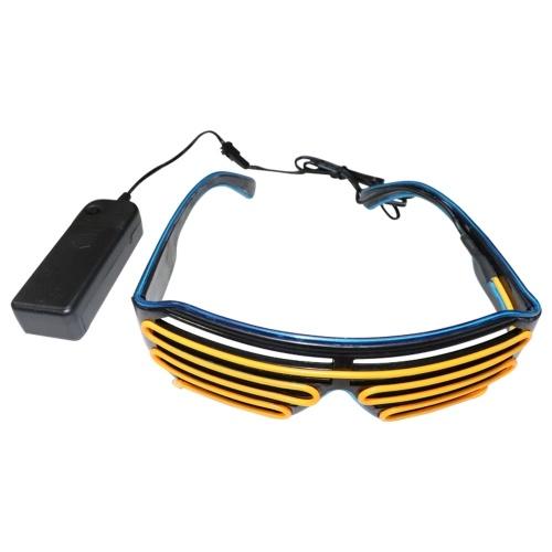LED-Brille 15 Farben Optionales Licht