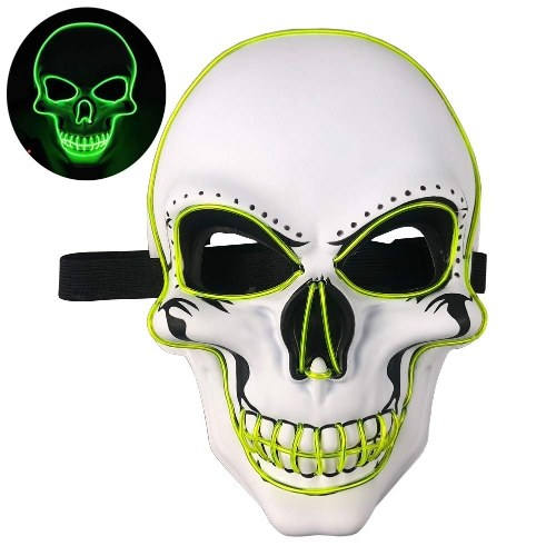 Halloween Party Mask LED Scary ...