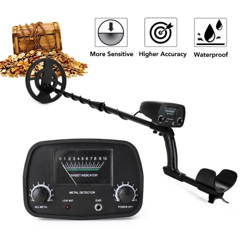 Portable Easy Installation Underground Metal Detector High Sensitivity Jewelry Treasure Gold Metal Detecting Tool