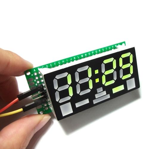 Simple 4-digit DIY Digital LED Clock Kit Simple Desktop Electronic Mini-Clock