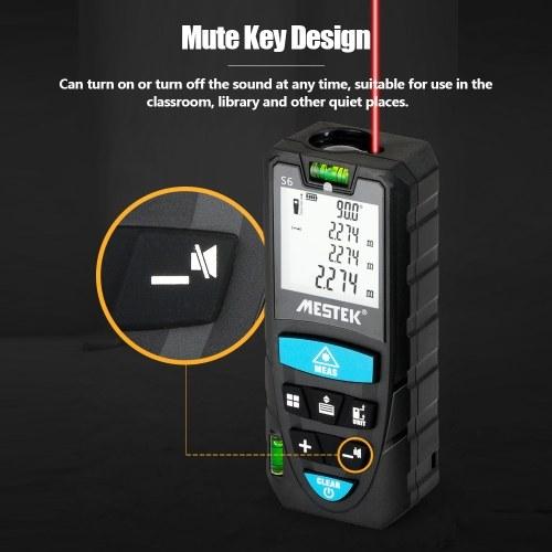 MESTEK Telémetro láser digital portátil portátil