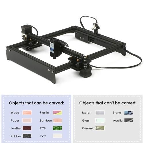 20W Laser Engraving Machine Off-Line Control Desktop DIY Laser Engraver Cutter Laser Logo Mark Printer Working Area 280*230mm US Plug