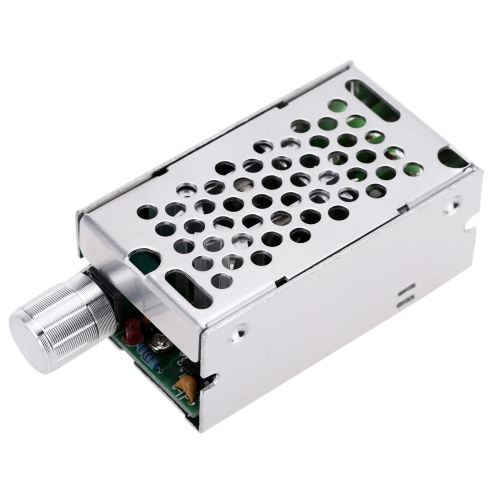 Adjustable DC Brush Motor Speed PWM Controller Adjuster 12V/24V/36V/60V 8A 400W with Control Switch