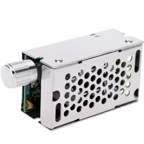 Adjustable DC Brush Motor Speed PWM Controller Adjuster 12V/24V/36V/60V 8A 400W with Control Switch E1210