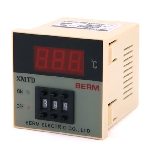 XMTD-2001デジタルディスプレイ温度コントローラーショートシェル0-399℃Kタイプ温度レギュレーター