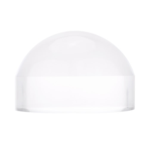 5X 80mm Crystal Acrylic Glass Dome Magnifier Paperweight Map Magnifying Tool for Reading Aid