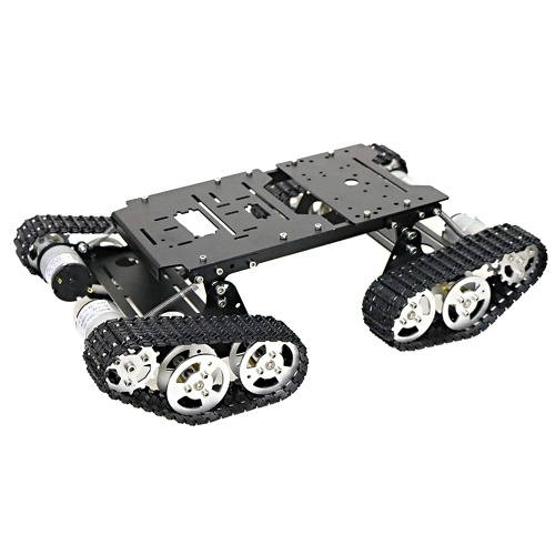 Smart Car Robot 4WD Shock Absorbing Robotic Tank Chassis Kit
