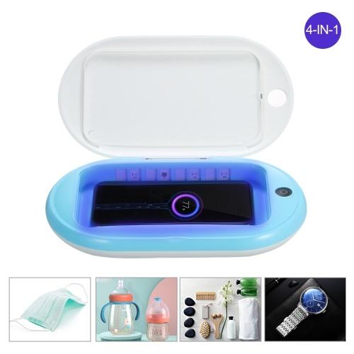 Desinfectante UV portátil con cargador inalámbrico multifunción