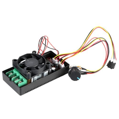 Adjustable H-Bridge DC Motor Speed PWM Controller with PLC Control Reversing