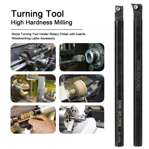 High Hardness Milling Tool Holder Quick Cutting Efficiency Lathe CNC Arbor with Insert and Wrench