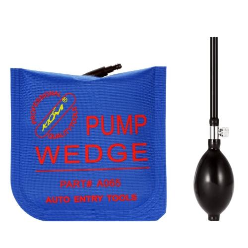 16. 5 * 16 cm azul bomba de aire cuña bloqueo selección herramientas abrelatas