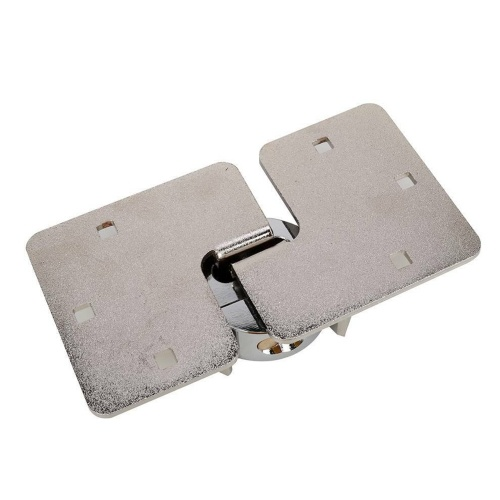 73mm Steel Lock Shackle Lock With 2pcs Copper Key Included Base And 6pcs Screw