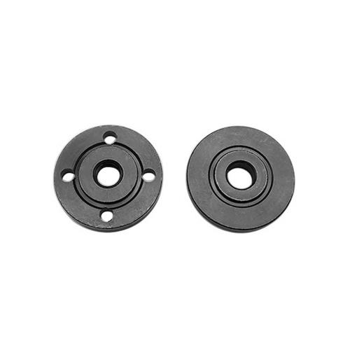 1 paio di strumenti di sostituzione filettatura accessori per dadi flangiati interni smerigliatrice angolare per dischi da taglio con foro da 20 mm e 22 mm
