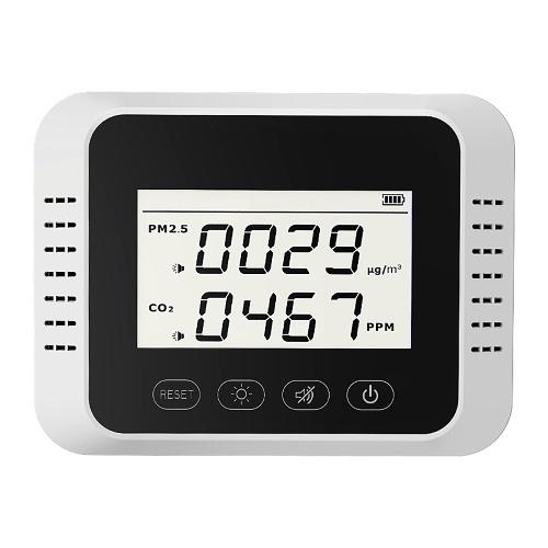 Portable Digital CO2 Detector Multifunctional Formaldehyde Tester Air Quality Monitor Air Analyzer