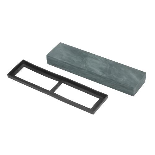 5000グリットナイフ研ぎ石ナイフ研磨石ゴム石ホルダー付きファイン砥石砥石200 * 50 * 25mm