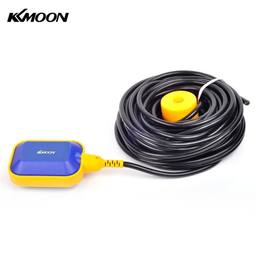 KKmoon 15m Automatic Square Float Switch Liquid Fluid Level Controller Sensor for Water Tank Tower