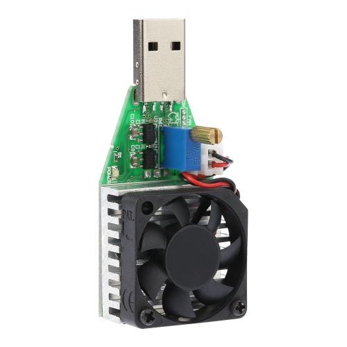 Constante de carga electrónico del probador 0.15-3.00A alimentación de corriente ajustable DC3.7-13V USB