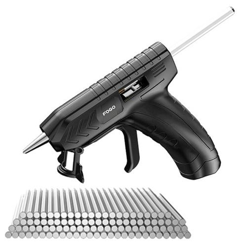 Kit di strumenti di riparazione fai-da-te ricaricabili USB per macchina professionale per colla a caldo senza fili con stick di colla