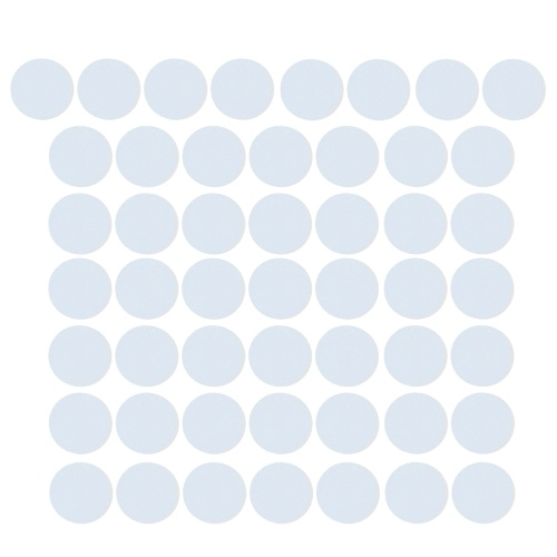 10PCS NFC 215 White Ntag215 Blank Cards NFC Round Coin Rewritable Cards for NFC Enabled Mobilephones Compatible With TagMo