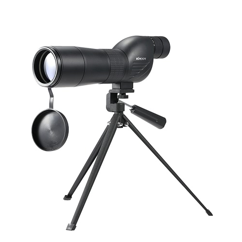 KKmoon 15-45x60mm Zoom Spotting Scope Telescope Multi-Coated Optical Lens 180° with Tripod & Carrying Bag for Birdwatching Hunting   Camping Moutaineering Naturalist