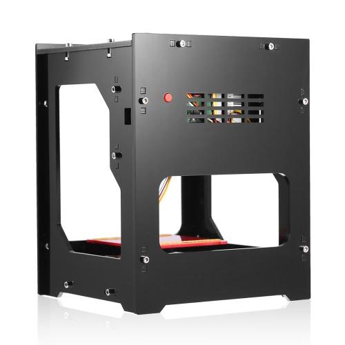 Meter DK-BL 1500mW mini macchina di incisione del laser di DIY