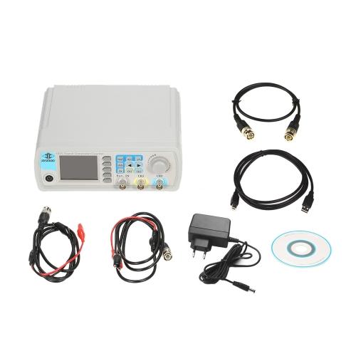 高精度デジタルデュアルチャンネルDDS機能信号発生器任意波形パルス信号発生器1Hz〜100MHz周波数計200MSa / s 40MHz