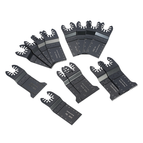 14pcs / set oscillant lame de scie outil multiple
