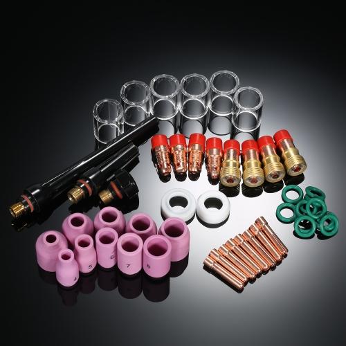 Комплект принадлежностей для сварочных горелок TIG для 49pcs / set
