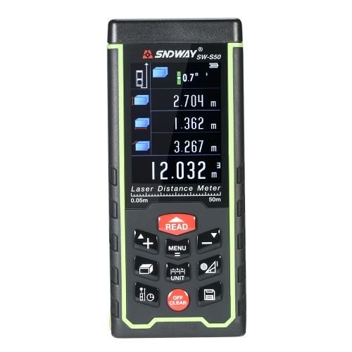 120m Mini Handheld LCD Digital Laser Distance Meter