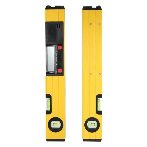 Misuratore laser digitale da 400 mm Misuratore a I con raggio d'acqua Livello torpedo con display LCD retroilluminato con base magnetica