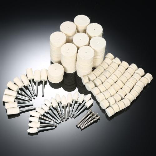 Инструменты для полировки колесных дисков из абразивного материала 129шт.