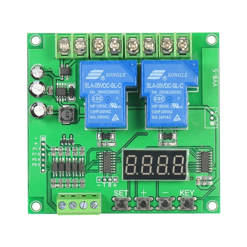 12V / 24V 2-Channel Motor Shield Board 30A LED Relay Module para Arduino Raspberry Pi