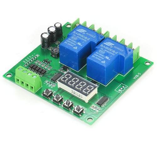 12V/24V 2-Channel Motor Driver Shield Board 30A LED Relay Module